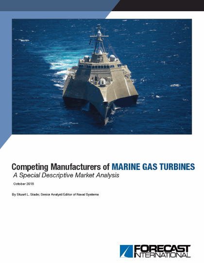 Competing Manufacturers of Marine Gas Turbines