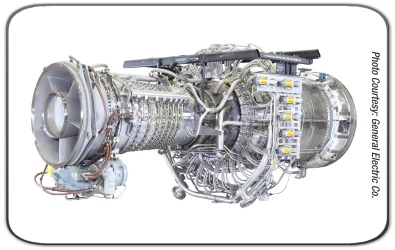 General Electric LM2500 industrial & marine gas turbine and gas generator