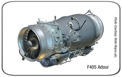 Rolls-Royce Turbomeca F405 Adour Turbofan Engine